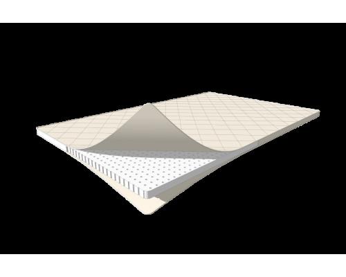 Тонкий латексный матрас -топпер 160x190